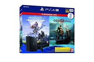 Sony Playstation 4 - PS4 Pro 1TB + GOW + Horizon (Complete Edition) £287.28 @ Amazon Spain