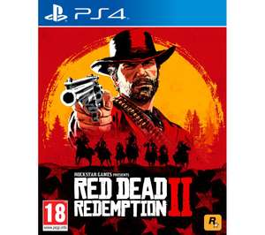 Red Dead Redemption 2 PS4/Xbox1 £24.99 @ Currys