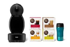 De'Longhi Dolce Gusto Coffee Machine Colors™ Travel Bundle Pack with coffee and travel mug included for £54.50 delivered @ eBay / De'Longhi