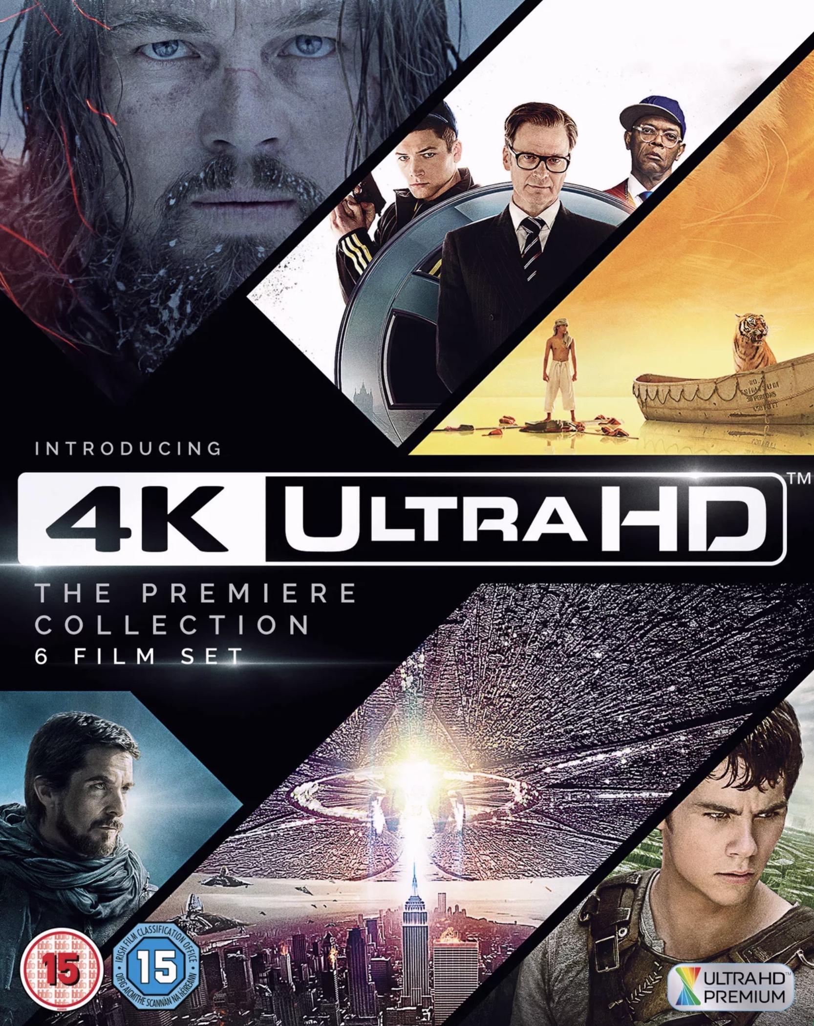 4K UHD Blu Ray Premier Collection 6 Films £29.39 @ Amazon