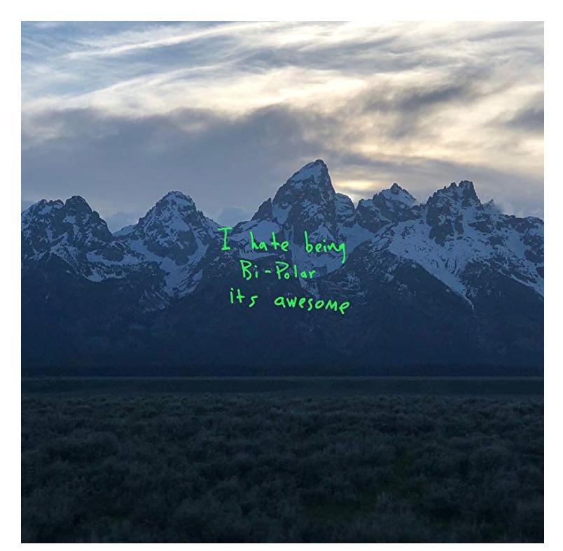 Ye Vinyl record - Kanye West £5.99 prime / £10.98 non prime @ Amazon