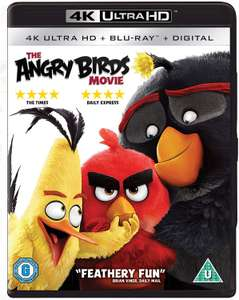 The Angry Birds Movie [4K Ultra HD] [Region Free] +digital copy £8.49 prime / £11.48 non prime @ Amazon