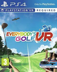 Everybody's Golf VR (PSVR/PS4) £14.85 Delivered @ Boss Deals via eBay
