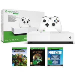 Xbox One S 1TB All Digital Fortnite Edition - £119.99 delivered @ Smyths Toys - Click & Collect