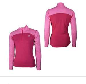More Mile Heather Long Sleeve Half Zip Womens Running Top £4.99 prime / £9.48 non prime Dispatched from and sold by Start Fitness Amazon