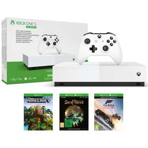 Xbox One S All-Digital £129 from Currys PC World with free Click & Collect - Choice of 2 Bundles