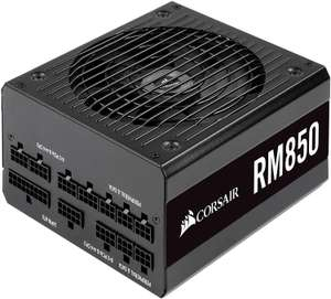 Corsair RM850 80 Plus Gold Certified, 850W Fully Modular ATX Power Supply £79.99 at Amazon (10 years warranty)