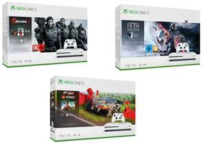 Xbox One S 1TB with Dual Controller or Forza Horizons 4 + Lego or Gears 5 or Star Wars £169.99 (£119.99 with new customer code) @ Very