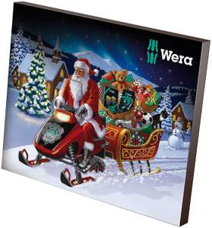 Wera Tools Advent Calendar 2019 at Amazon £33.99