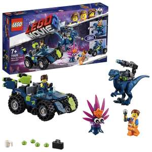 LEGO 70826 Movie 2 with Emmet and Rex Minifigures, Recon the Dinosaur and Buildable Plantimal Figure Building Set £15 + £4.49 NP @ Amazon