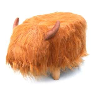 Hamish the Highland Cow Footstool - £63.14 delivered @ Red Candy
