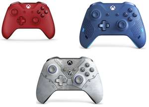 Xbox One Wireless Controller White / Black £34.99 and Red / Blue & all special edition e.g. Gears 5 Kait Diaz / Sports Blue £39.99 @ Currys