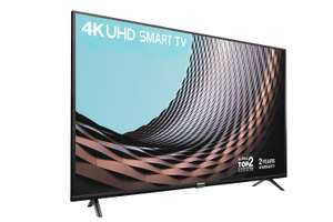 """TCL 43"""" Smart TV – 2 Year Warranty - 4K HDR10 & HLG £249 @ Amazon"""