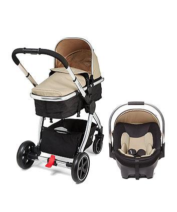 4-wheel journey chrome travel system - sand £149.50 @ Mothercare