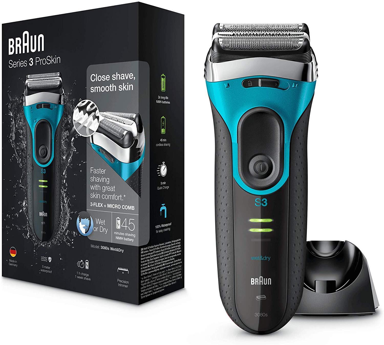 Braun Series 3 ProSkin 3080s Electric Shaver £49.99 @ Amazon