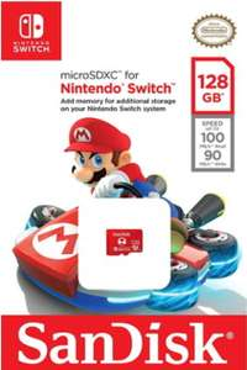 SanDisk 128GB microSDXC card for Nintendo Switch £18.99 @ Base