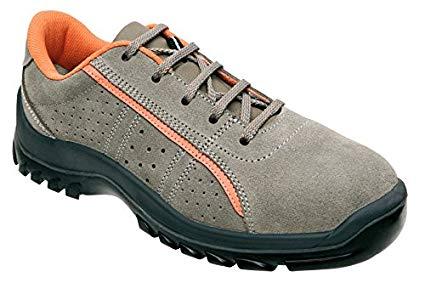 Panter 714121500 E Zion Super Numan S1 Work Shoes - Grey - Size: 5.5 £15.54 + £4.49 delivery @ Amazon