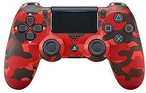 PlayStation 4 - DualShock 4 Wireless Controller, Red Camouflage £38.40 @ Amazon DE