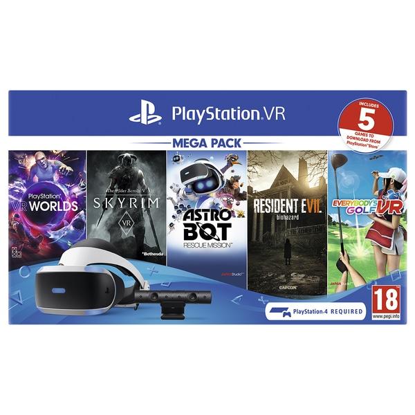 Playstation VR Mega Pack MK4 £209.99 @ Smyths