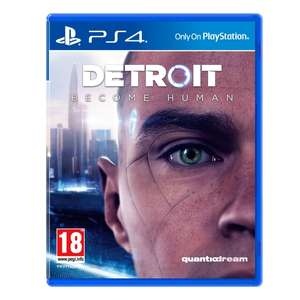 Detroit: Become Human PS4 PS4 £9.99 C+C @Symths