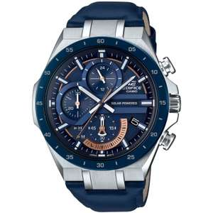 Mens Casio Edifice Chronograph Solar Powered Watch EQS-920BL-2AVUEF £94.50 @ Watch Shop