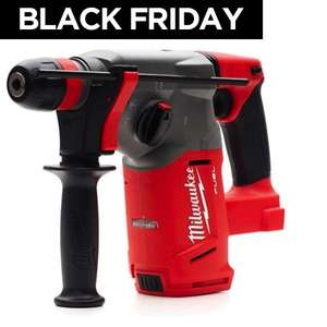 Milwaukee M18CHX-0 FUEL SDS-PLUS Hammer Drill Bare Unit £149.99 Delivered @ Trade Counter Direct