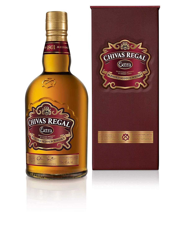 Chivas Regal Extra Blended Scotch Whisky, 70 cl £22 @ Amazon