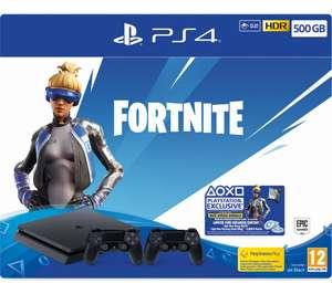 SONY PlayStation 4 500GB with Fortnite Neo Versa & Two Wireless Controllers - £199 @ Currys PC World