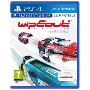 WipEout Omega Collection (PS4) - £10 at Smyths