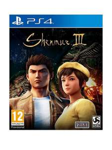 Shenmue 3 PS4 £31.50 @ Coolshop (4.4% @TCB)