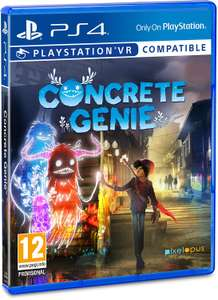 Concrete Genie (PS4) @ Amazon - £16.99 (+£2.99 non-Prime)