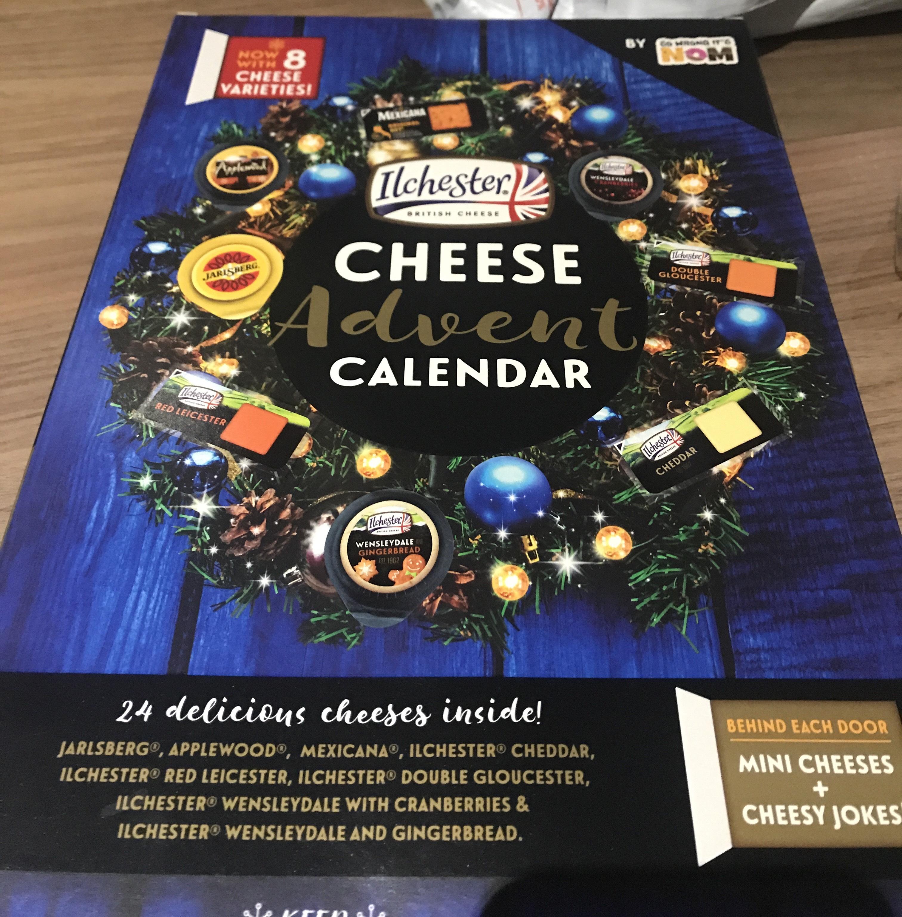Ilchester Cheese Advent Calendar 2019 £8 @ Asda