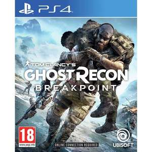 Ghost recon Breakpoint for ps4 £23.85 @ Base