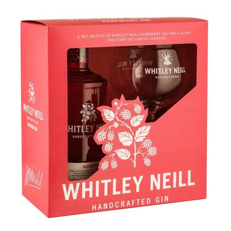 Whitley Neill raspberry gin and glass gift set £10.80 @ Debenhams