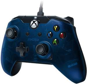 PDP Wired Controller for Xbox One - Blue / Green / Orange / White Camo £12.99 delivered with prime / £15.98 non-prime @ Amazon