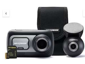 Nextbase dashcam 522gw with rear cam includes 32gb nextbase sd card & carry case £139.99 @ Very (with code)