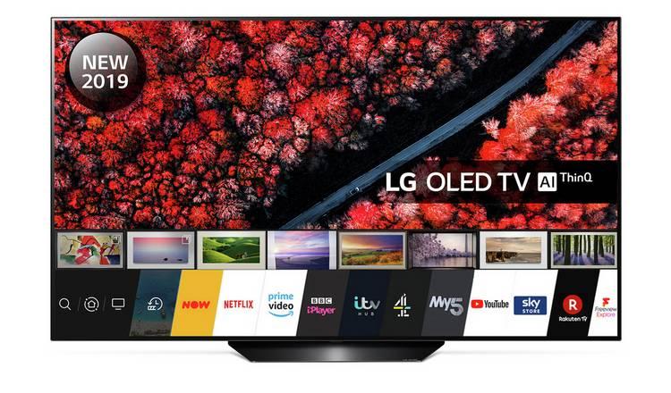 LG 55 Inch OLED55B9PLA Smart 4K HDR OLED TV - £1,099 @ Argos