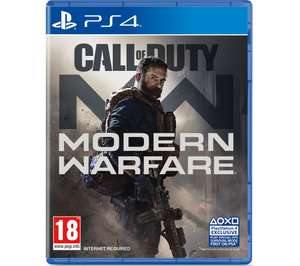PS4 Call Of Duty Modern Warfare 2019 £37.98 @ checkout @ Currys