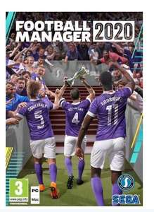 Football Manager 2020 from Boston United only £17 (inc postage)
