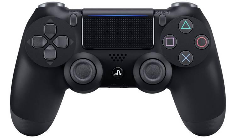 Sony PS4 Official DualShock 4 wireless Controller V2 (Black / White) £29.99 @ Argos (Free C&C)