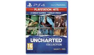 Uncharted Collection PS4 Hits £7.99 @ Argos (Free C&C)