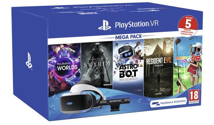 PlayStation VR Megapack 2019 (Inc. 5 games) £209.99 @ Argos