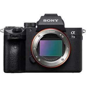 Sony a7 III Full-Frame Mirrorless Digital Camera Body £1754 @ Park Cameras (£1,454 after £300 double cashback)128GB and 64GB SD cards free