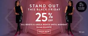 Duo Boots 25% off Black Friday