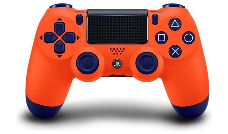 DualShock 4 Wireless Controller (Sunset Orange / Titanium Blue) £34.99 @ Argos