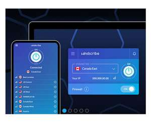 3-Year Subscription of Windscribe VPN Pro - £27.99 (With Code) @ StackSocial