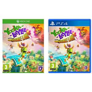 Yooka Laylee and the Impossible Lair (PS4 / Xbox One) - £12.99 at Argos