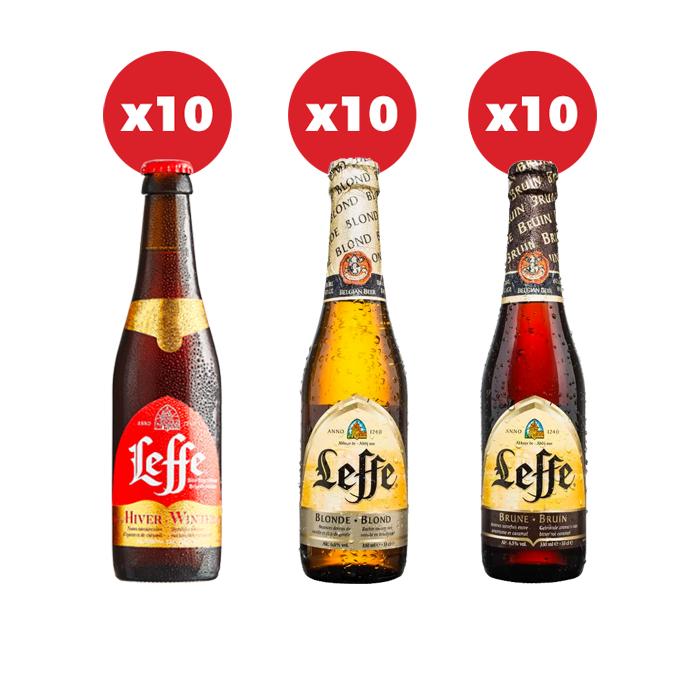LEFFE BEER CASE (30 BEERS) Free Delivery £30 @ Beer Hawke