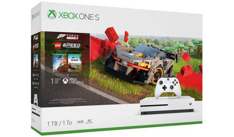 Xbox One S 1TB Console & Forza Horizon 4 LEGO Speed Bundle £179.99 @ Argos