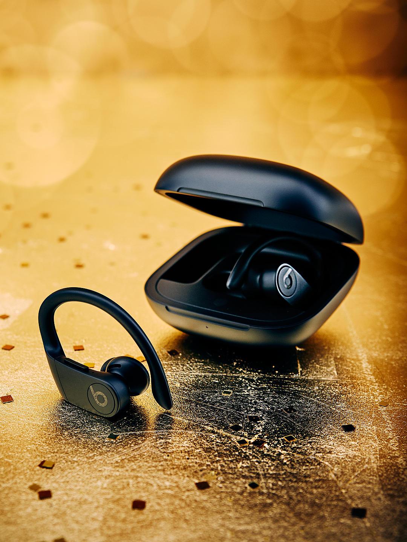 Powerbeats Pro True Wireless Bluetooth In-Ear Sport Headphones with Mic/Remote, Black £189 John Lewis & Partners